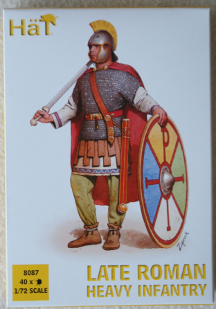 HaT 1/72 HAT8087 Late Roman Heavy Infantry (Ancients)